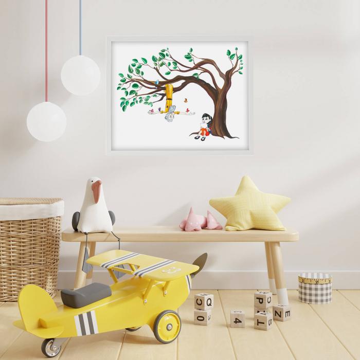 Poster decorativ pentru copii - Micul Print 03 [1]