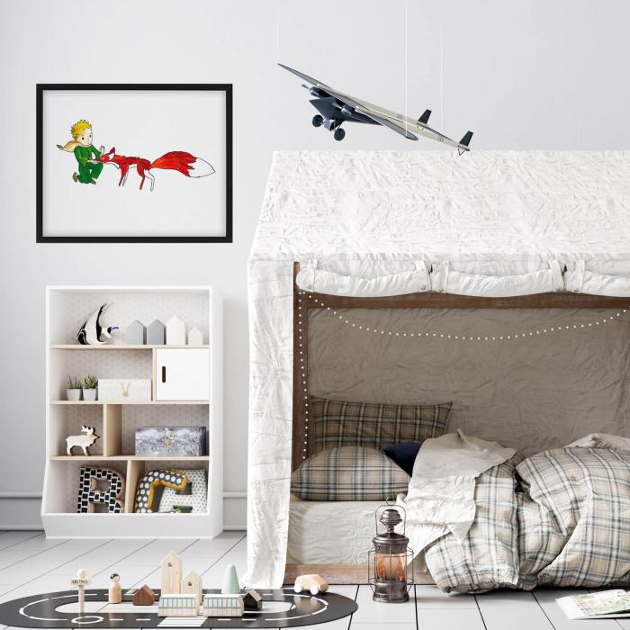 Poster decorativ pentru copii - Micul Print 04 1