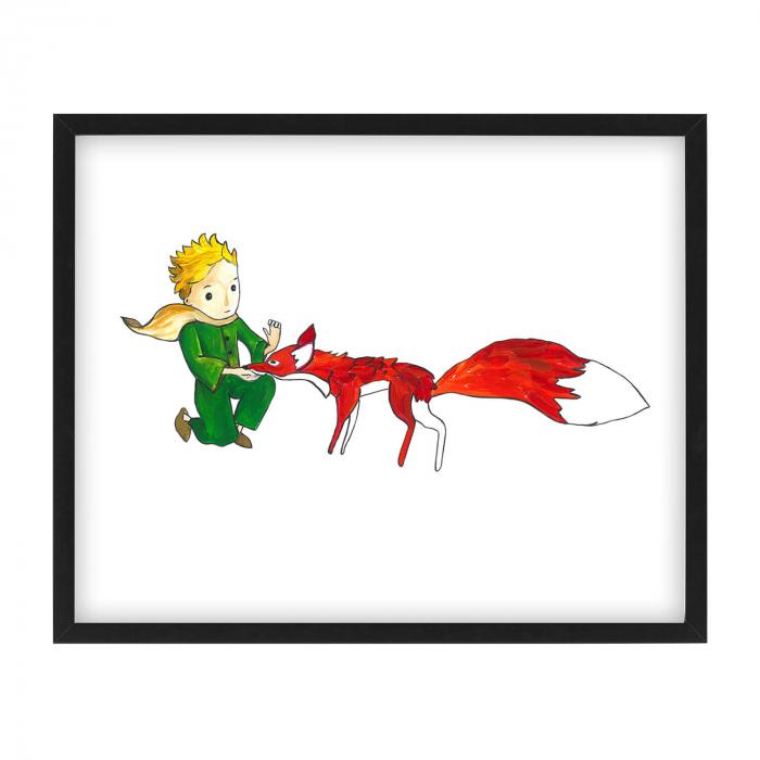 Poster decorativ pentru copii - Micul Print 04 0