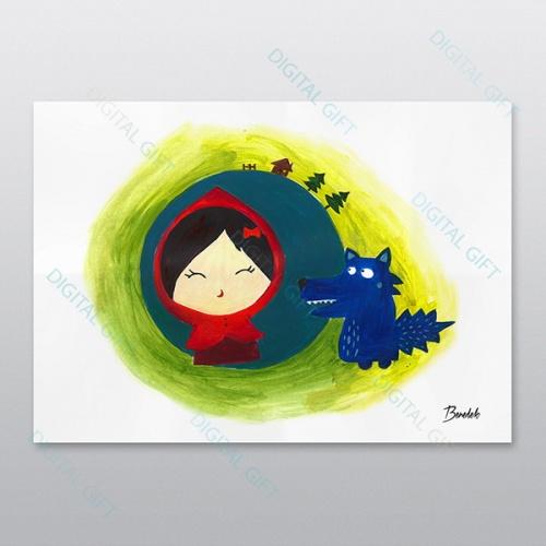 Poster - Scufița roșie 0