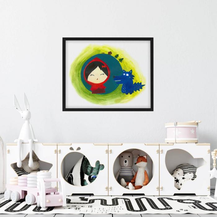 Poster decorativ pentru copii - Scufita rosie [1]