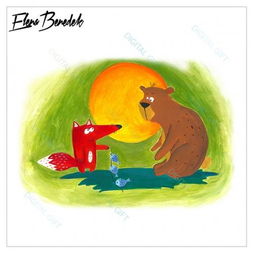 Poster - Ursul păcălit 1
