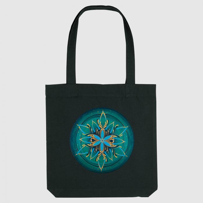 """Sacoșă clasică - Mandala """"Vishuddha"""" 0"""