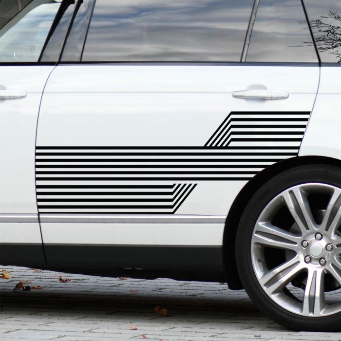 Set de stickere auto - Dungi 3D [2]