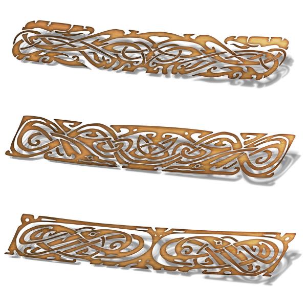Set de stickere pentru contratrepte - Ornament celtic 1