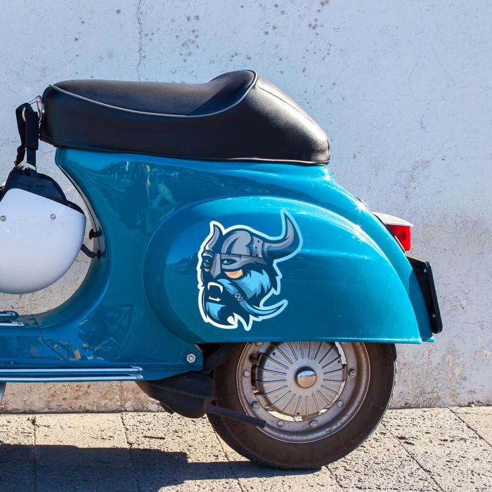 Sticker auto&moto - Blue viking #260 [0]