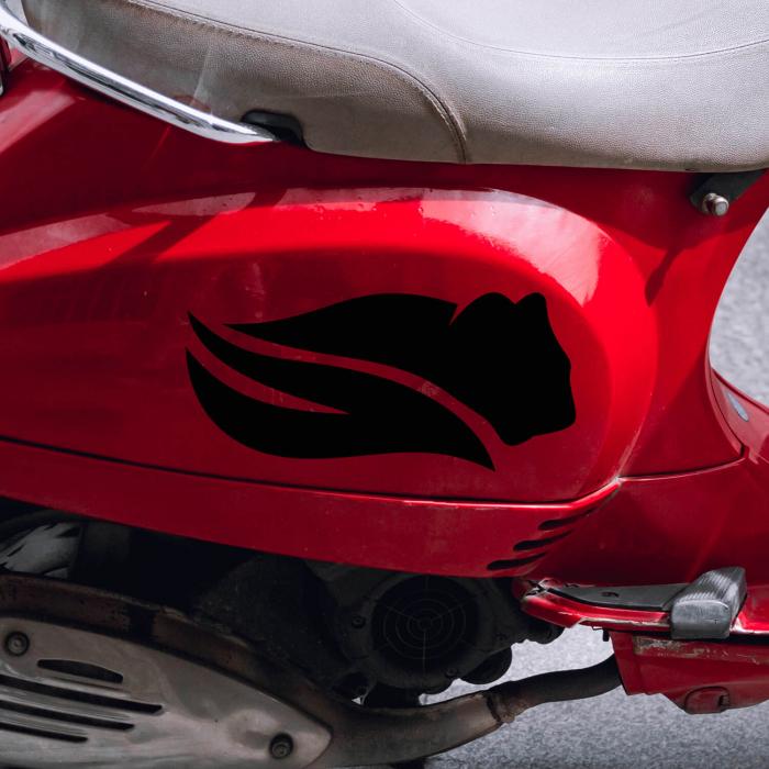Sticker auto&moto - Pantera neagră #265 [0]