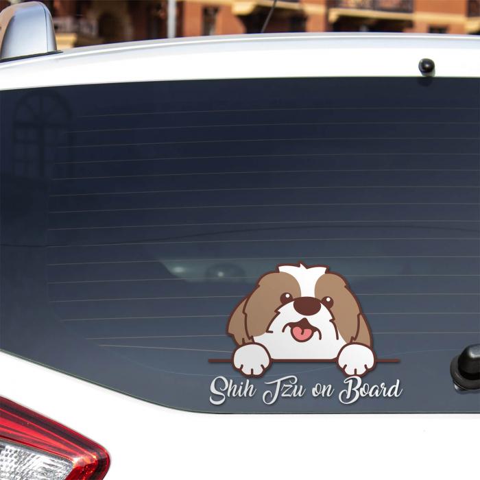 Sticker auto - Shih Tzu on board [0]