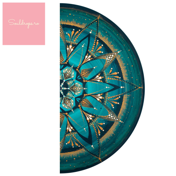 "Sticker decorativ - Mandala ""Despre adevar"" 1"