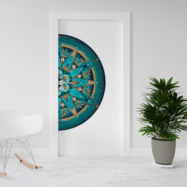 "Sticker decorativ - Mandala ""Despre adevar"" 0"