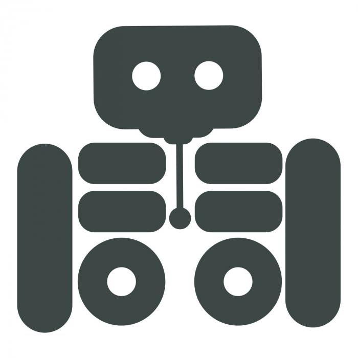 Sticker pentru întrerupător - Roboțel [1]