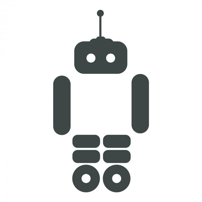 Sticker pentru întrerupător - Roboțel [2]