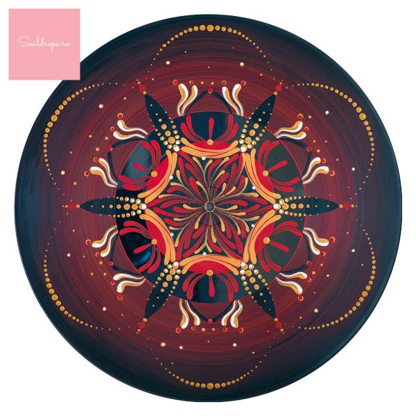 "Sticker pentru pardoseală - Mandala ""Muladhara"" [1]"