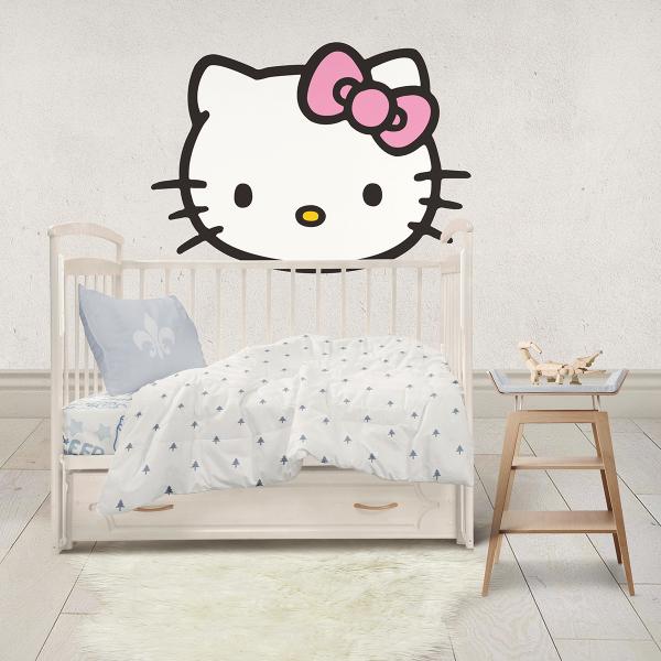 Sticker decorativ perete - Hello Kitty 1