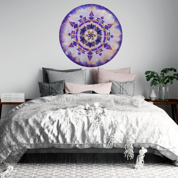 "Sticker decorativ perete - Mandala ""Coroana"" 0"