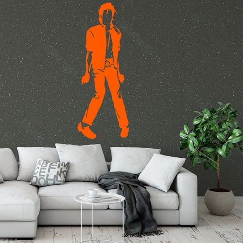 Sticker decorativ perete - Michael Jackson 0