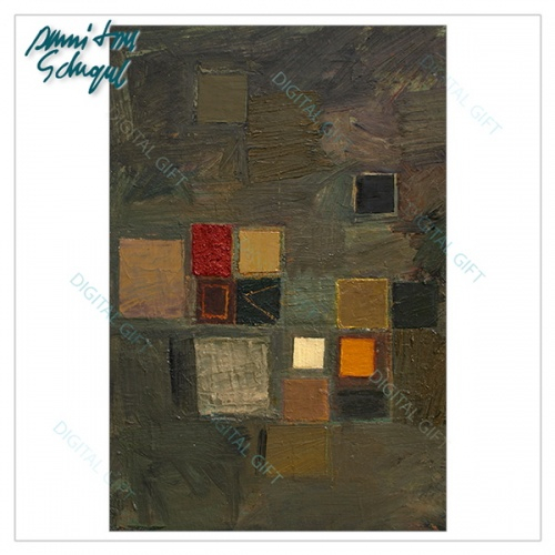 Tablou simplu - Abstract, ritm de toamnă 1