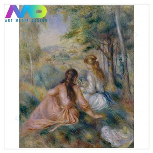 Tablou simplu - Auguste Renoir - În luncă 1