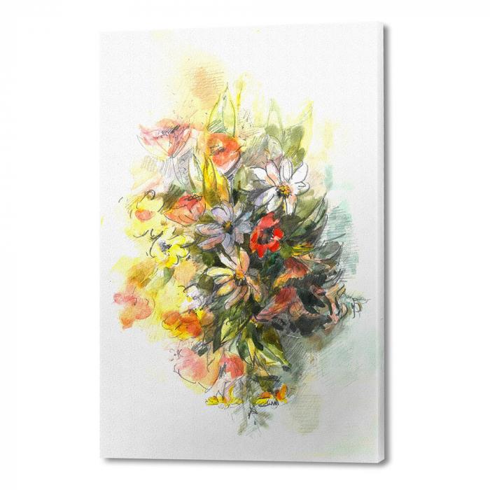 Tablou simplu - Buchet cu flori de câmp 0