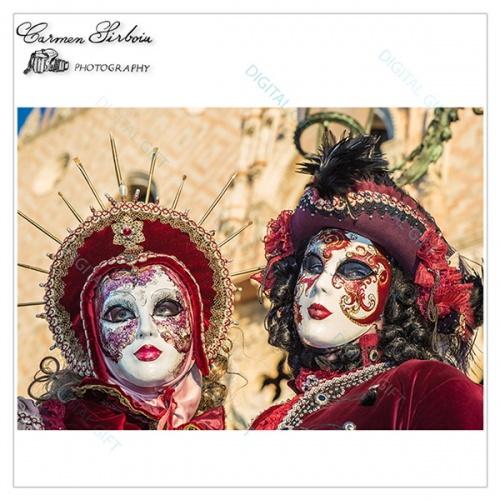 Tablou simplu - Carnaval la Veneția 02 1
