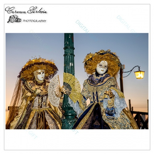 Tablou simplu - Carnaval la Veneția 07 1