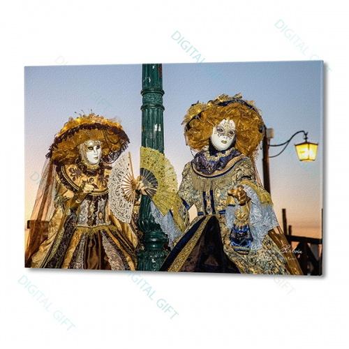 Tablou simplu - Carnaval la Veneția 07 0