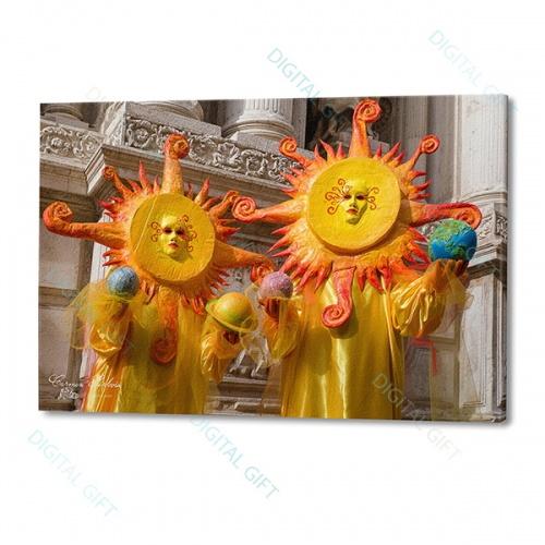 Tablou simplu - Carnaval la Veneția 09 0
