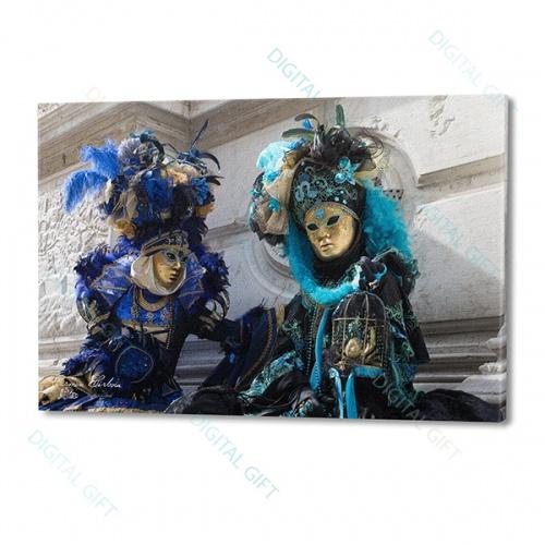 Tablou simplu - Carnaval la Veneția 11 0