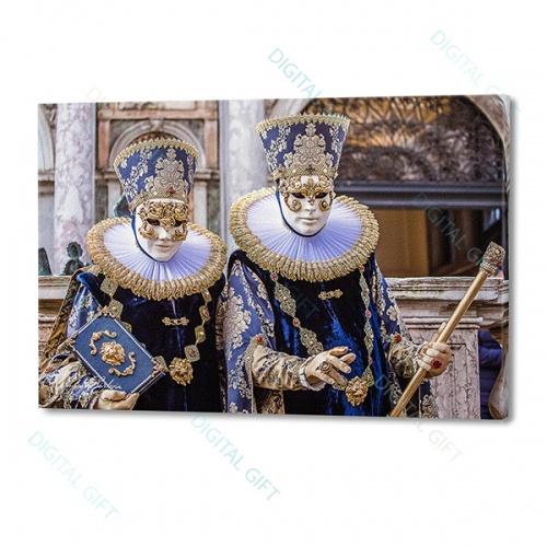 Tablou simplu - Carnaval la Veneția 21 0