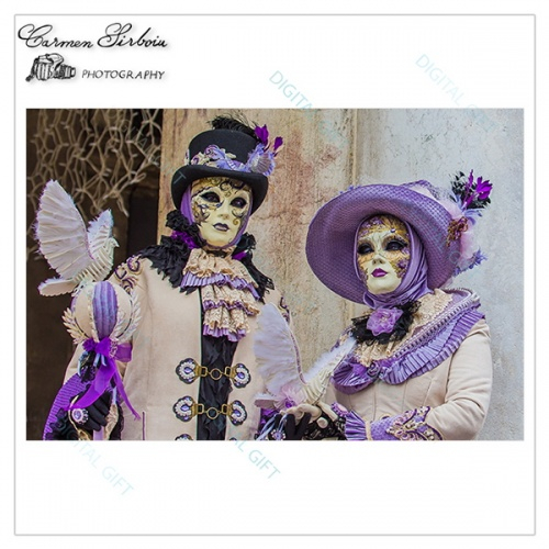 Tablou simplu - Carnaval la Veneția 25 1