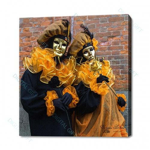 Tablou simplu - Carnaval la Veneția 39 0