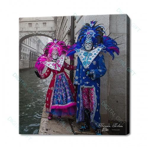 Tablou simplu - Carnaval la Veneția 41 0