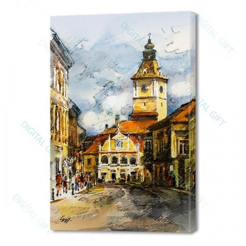 Tablou simplu - Casa Sfatului, Brașov 0