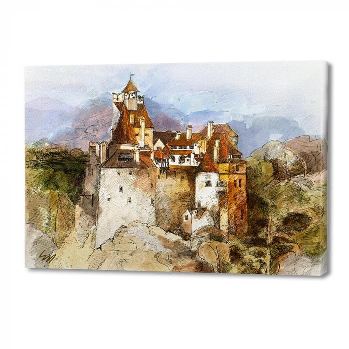 Tablou simplu - Castelul Bran 01 [0]