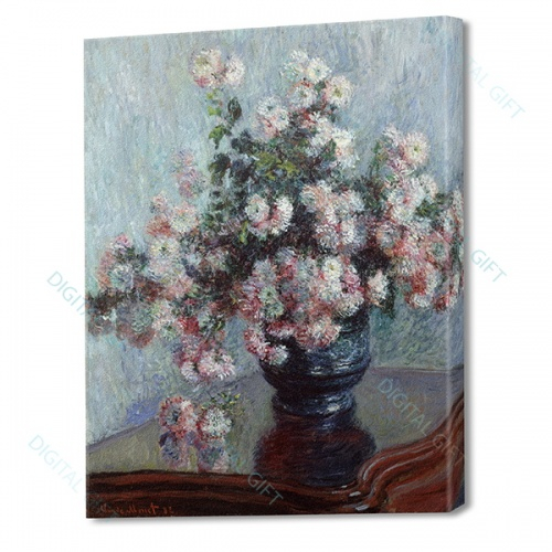 Tablou simplu - Claude Monet - Chrysanthemums 0