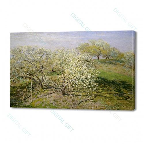 Tablou simplu - Claude Monet - Primăvară [0]