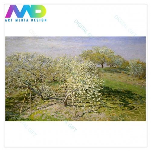 Tablou simplu - Claude Monet - Primăvară [1]