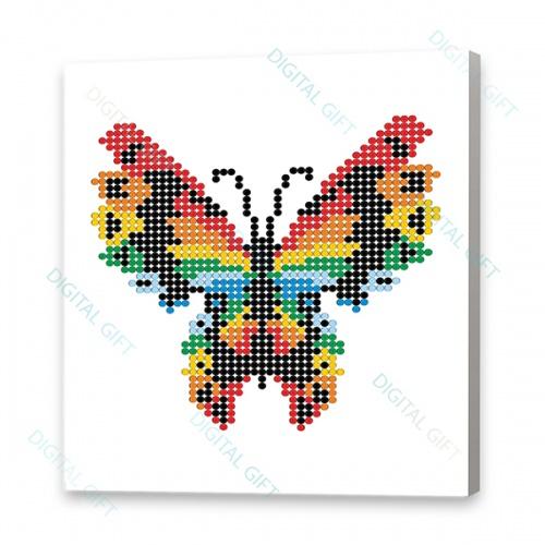 Tablou simplu - Fluture stilizat 0
