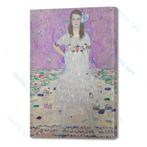 Tablou simplu - Gustav Klimt - Mäda Primavesi 0