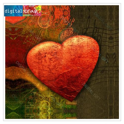 Tablou simplu - Inima 1