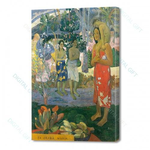 Tablou simplu - Paul Gauguin - Ia Orana Maria [0]