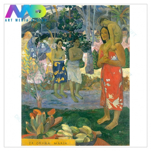 Tablou simplu - Paul Gauguin - Ia Orana Maria [1]