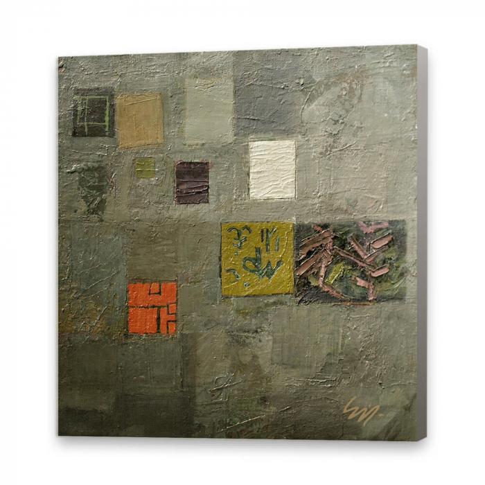 Tablou simplu - Peisaj abstract 0