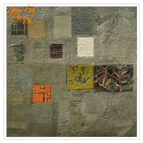 Tablou simplu - Peisaj abstract 1