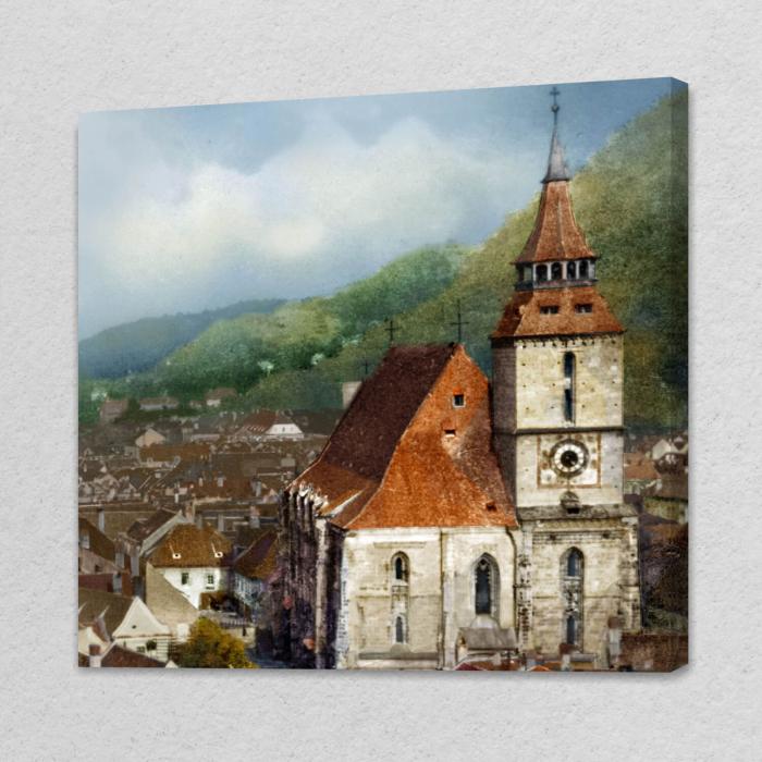 Tablou simplu - Turnul Bisericii Negre, Brașov [0]