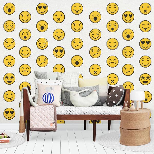Tapet tip pattern - Emoji 0