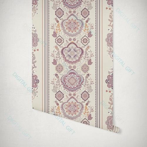 Tapet tip pattern - Motive florale 1