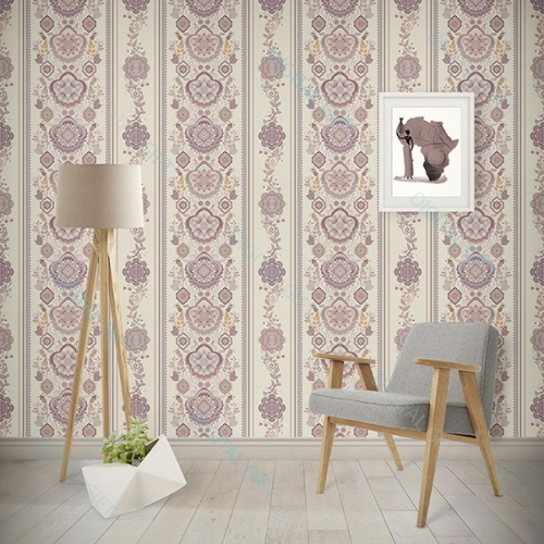 Tapet tip pattern - Motive florale 0