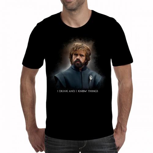 Tricou bărbați - GOT - Tyrion Lannister 01 0