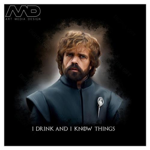 Tricou bărbați - GOT - Tyrion Lannister 01 1